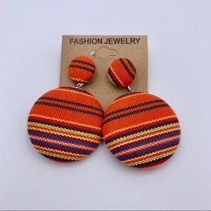 Fashion fun earrings boho 2 inch long